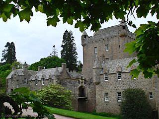 A beautiful Scottish castle