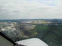 Landing at KPAE