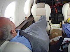 JP, a well deserved nap