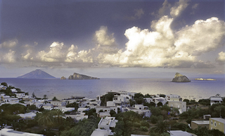 View from Hotel Raya on Isola Panarea