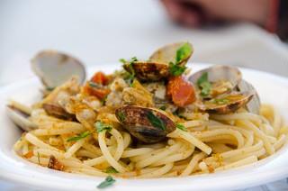 Carmen's Pasta con vongole