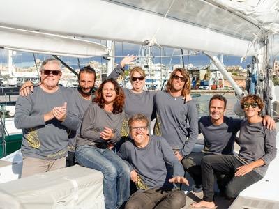 Crew photo in Palma de Mallorca, 2014/12