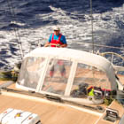 Art, helming FG in the South Atlantic
