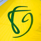The FG logo in our big gennaker