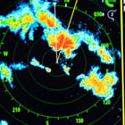 Nasty looking radar returns!