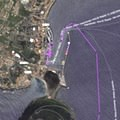 MarineTraffic website showed the arrival in Horta