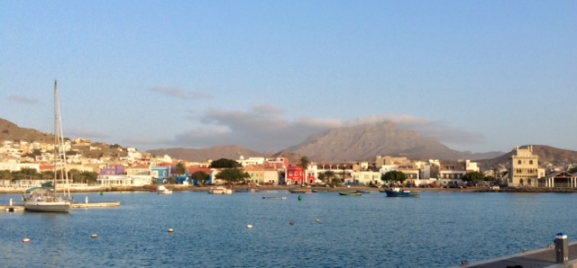 The harbor at Mindelo