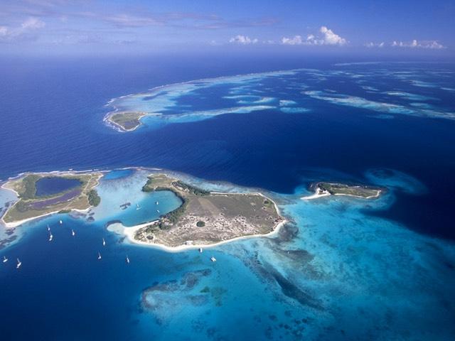 Beautiful Los Roques Islands