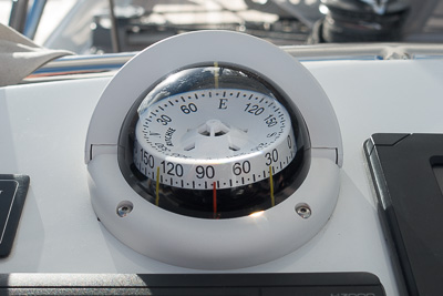 Our helm compass