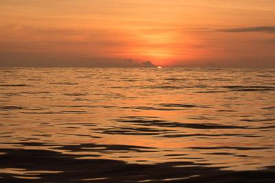 Nice Galapagos sunset