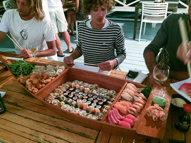 Our ship has come in, that is... the Sushi Ship