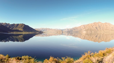 On the road to Wanaka and Queenstown