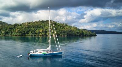 FG anchorged off Epi Island